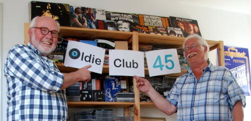 Peter Kettwig & Hans-Peter Huch  -  Oldie Club 45